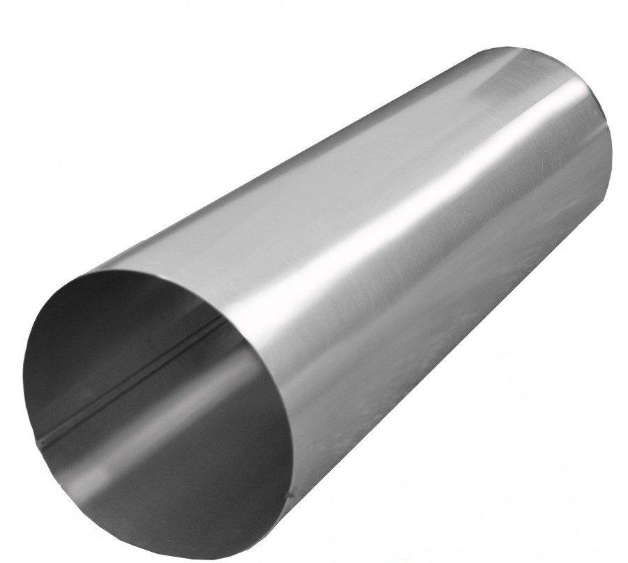 Прямошовный воздуховод из оцинкованной стали