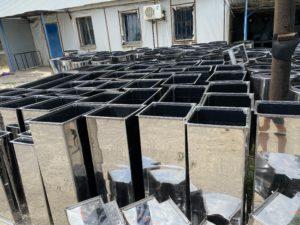 Воздуховоды и фасонные части из нержавеющей стали - производство